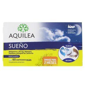Aquilea Sueño Melatonina 60 Comprimidos Bicapa