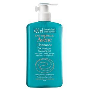 Avene - Eau Thermale Cleanance Gel Limpiador 400Ml