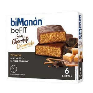 Bimanan - Barritas Be Fit Chocolate Caramelo 6U
