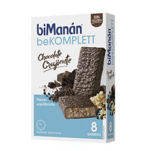 Bimanan - Barritas Chocolate Crujiente Be Komplet 8U
