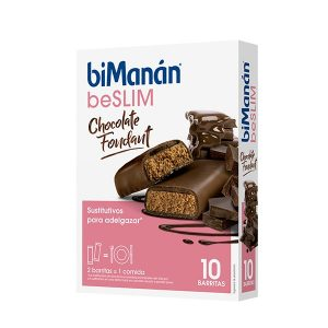 Bimanan - Chocolate Foundant 10 Barritas Be Slim