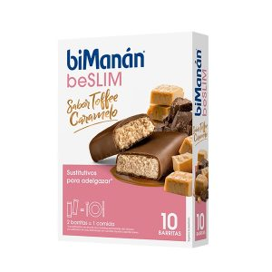 Bimanan - Toffee Caramelo 10 Barritas Be Slim
