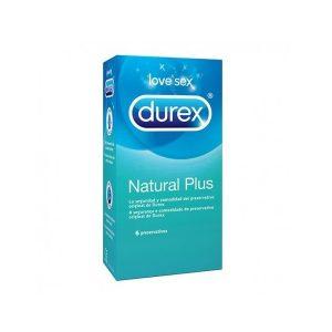 Durex - Natural Plus Easy On 6 Unidades
