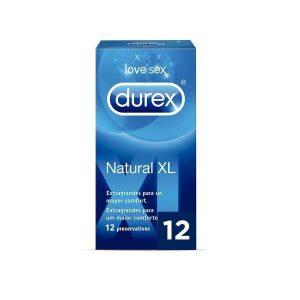Durex - Natural Xl Easy On 12 Unidades