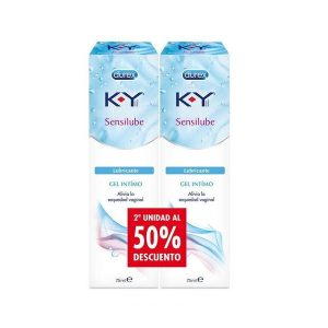 Durex - Pack Sensilube Ky Gel Intimo (2A Unidad Al 50%)