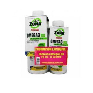 Enerzona - Pack Omega 3 Rx 240 Cápsulas De 1Gramo+60 Cápsulas De Regalo