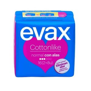 Evax - Cottonlike Normal Alas 16 Compresas