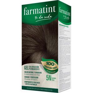 Farmatint Gel Coloracion Permanente 4N Castaño