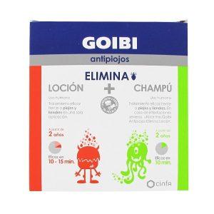 Goibi - Elimina Antipiojos Loción +  Champú