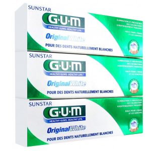 Gum Original White Pack Ahorro 3X75Ml