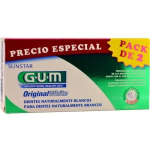 Gum Original White Pasta Dental Duo 2 Ud 75Ml