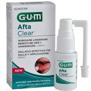 Gum Spray Afta Clear Alivio Eficaz 15Ml
