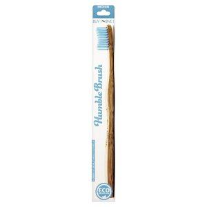 Humble Brush - Cepillo Mediano De Bambú Azúl