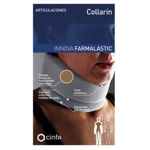 Innova Farmalastic Collarín Infantil Gris