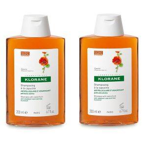 Klorane - Pack Anticaspa Champú Extracto Capuchina 200 ml