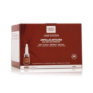 Martiderm - Ampollas Anticaída Hair System 28 Ampollas