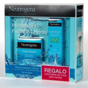 Neutrogena - Pack Hydro Boost Crema Gel Para Piel Normal Y Mixta 50Ml + Regalo Contorno De Ojos