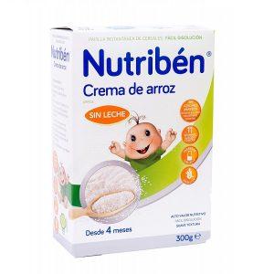 Nutriben Crema De Arroz 300G Sin Gluten