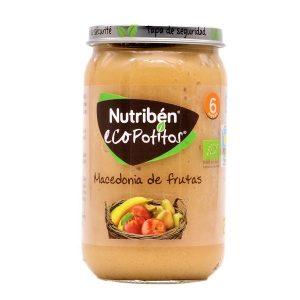 Nutribén Ecopotitos macedonia de frutas 235gr