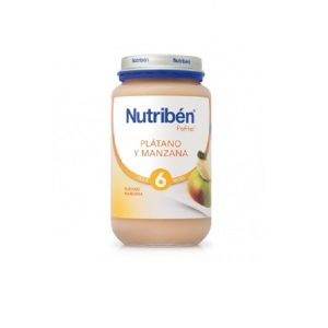 Nutriben - Potito Plátano Y Manzana 6 Meses (200G)
