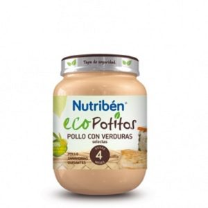 Nutriben - Ecopotito Pollo Con Verduras Selectas 6 Meses (200G)