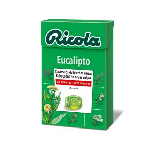 Ricola - Caramelos Sin Azúcar Eucalipto (50G)