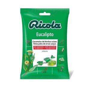 Ricola - Caramelos Sin Azúcar Eucaliptus Bolsa (70G)