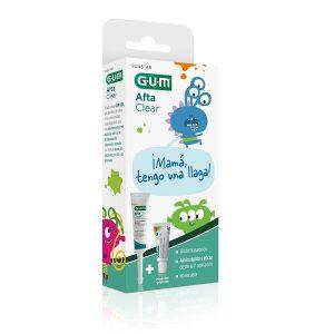 Gum - Gel Afta Clear (Llagas) + Junior Pasta Dental (50ml)