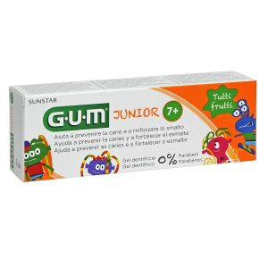 Gum - Junior Pasta Dental Sabor Tutti Frutti (50ml)