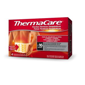 Thermacare Parches Zona Lumbar Y Cadera (4 Parches) - Pfizer