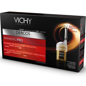 Vichy - Dercos Aminexil Pro Hombre Tratamiento Capilar Triple Accion 18 Monodosis